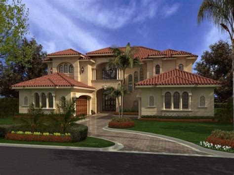 Mediterranean House Plan by Mediterranean House Plans Modern House