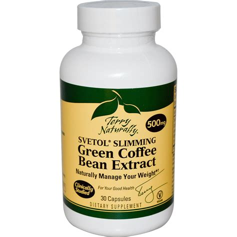 Green Coffee Extract europharma terry naturally svetol slimming green coffee