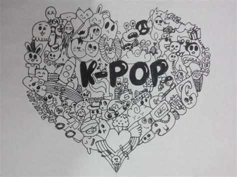 doodle kpop kpop hledat googlem k pop doodles chibi