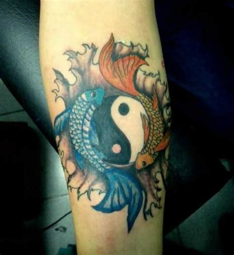 tattoo of koi fish meanings yellow koi fish tattoo meaning tattoo collection