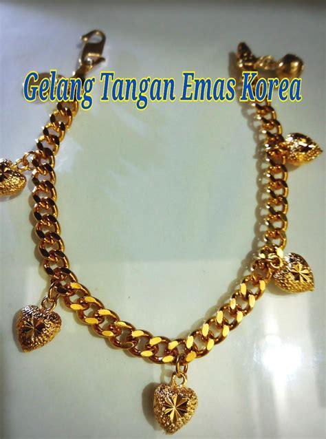 Gelang Tangan Korea Gt154 gelang tangan emas korea 31 hangin end 10 20 2017 2 15 pm