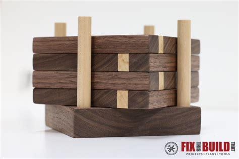 diy wooden diy wooden drink coasters fixthisbuildthat