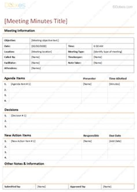 effective meeting templates  meeting pro app
