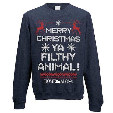 buy unisex home   filthy animal christmas jumper large game