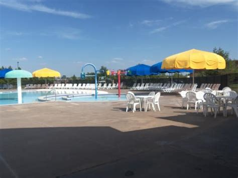 mustang swimming pool mustang aquatic center for last day this summer city of