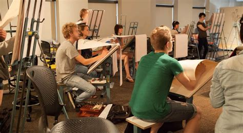 Drawing 1 Class In College by Figure Drawing Classroom Kendall College Of And