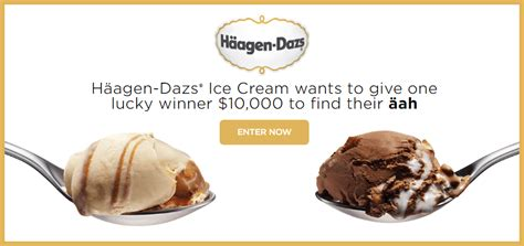 Promo Games Sweepstakes - haagen dazs find your aah instant win game sweepstakes familysavings