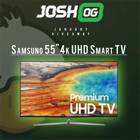 Joshog Pc Giveaway - win a samsung 55 inch smart tv 171 blogging contests and giveaways