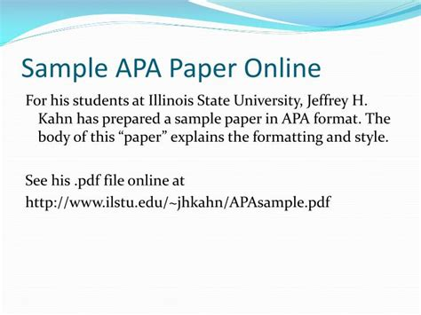 Ppt Apa Formatting An Introduction Powerpoint Apa Format For Powerpoint Presentations