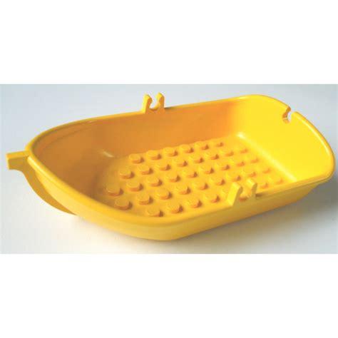 lego yellow boat lego yellow fabuland boat brick owl lego marketplace