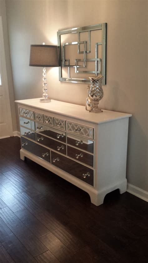 items similar to mirrored dresser white with quatrefoil