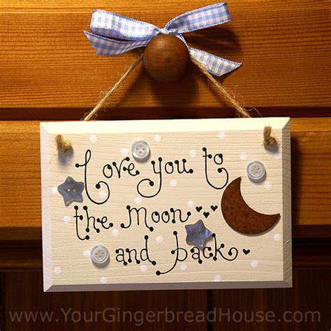 Handmade Wooden Sign - your gingerbread house signs handmade wooden