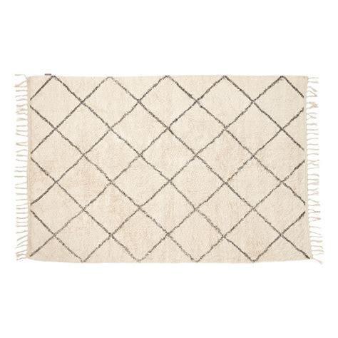 teppich grau baumwolle teppich baumwolle wei 223 grau h 252 bsch
