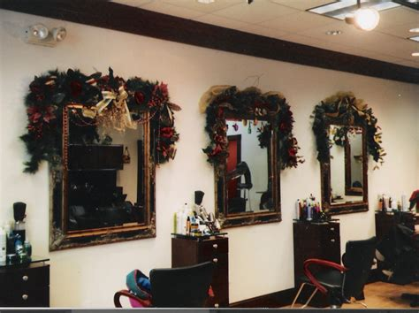 28 best salon christmas decorations salon window
