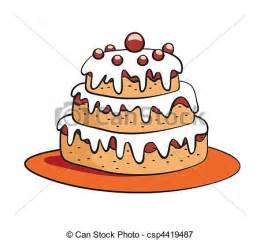 kuchen bilder comic vector illustratie taart spotprent spotprent taart