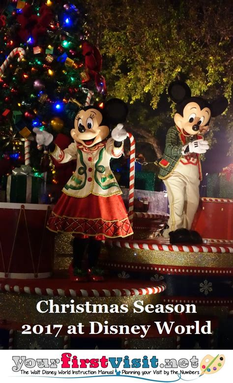 when does christmas start at disney world