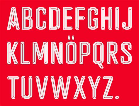 Arsenal Font | arsenal 15 16 kit font revealed footy headlines
