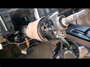 ignition switch replacement 89 cherokee xj youtube