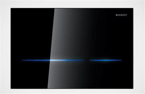 Sigma The Touch geberit sigma 80 placca in vetro con sensore elettronico