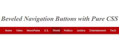html tutorial navigation bar complete toolbox 55 css menu and button coding tutorials