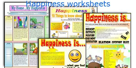 Pdf The Of Happiness by All Worksheets 187 Happiness Worksheets Pdf Printable