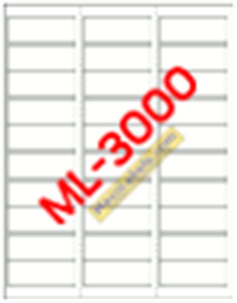 ml 3000 label template maco label templates