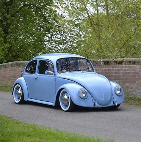 blue volkswagen beetle vintage vw volkswagen beetle beetle 1192cc modified