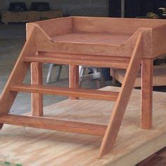 bedside platform dog bed dog beds platform with stairs elevated dog bed creation story by mid south bunk beds