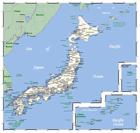 map of japan major cities map of japan cities my