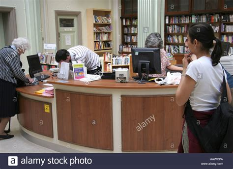 library reception desk library reception desk stock photo royalty free