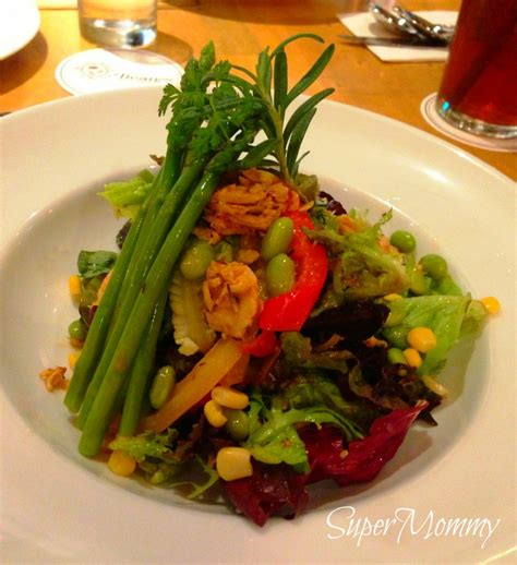 Salad Coffee Bean beanstro by coffee bean a new american style restaurant