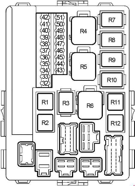 2001 2006 Nissan Altima Fuse Box Diagram 187 Fuse Diagram