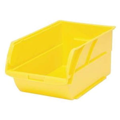 Storage Bins Home Depot by Stanley 1 Compartment Stackable Storage Bin 056400l The