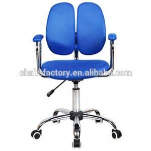 Double Swivel Chair Wd 1114bu Double Back Swivel Chair Ergonomic Office Chair