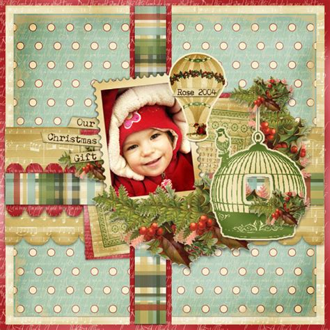 christmas scrapbook layout titles best gift of all children scrapbook page layout would