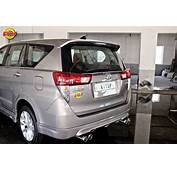 Modified Toyota Innova Crysta Spoiler In Images  Indian
