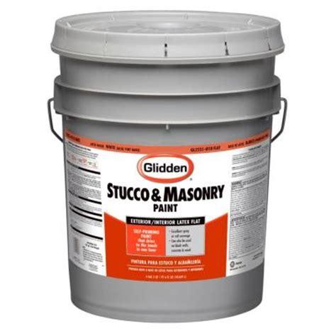 5 gallon exterior paint glidden ultra hide 5 gal flat white exterior