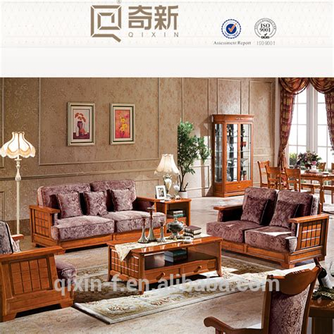 Wooden Living Room Set by Solid Wood Furniture American Style Living Room Sofa Sets