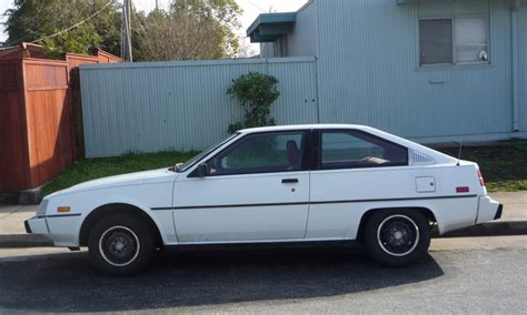 mitsubishi cordia for sale curbside the last mitsubishi cordia still on the