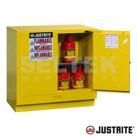 undercounter flammable storage cabinet flammables cabinet under counter self close doors 83