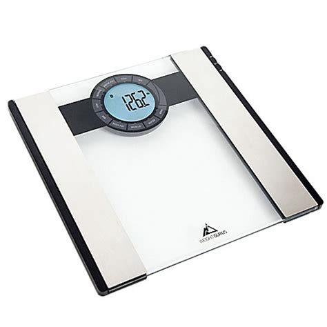 Bluetooth Scale weight gurus 174 bluetooth 174 smart bathroom scale bed bath