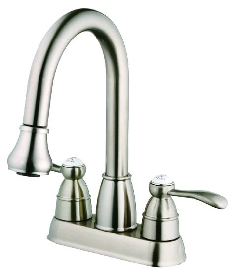 wash tub faucet laundry tub faucet with pull out spray