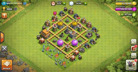 Layout Coc Yang Kuat | farming base clash of clans th 5 layout design base