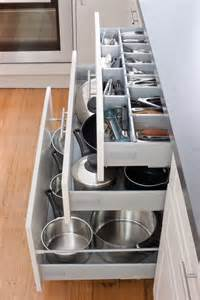 keep your kitchen in order with our pot drawers and