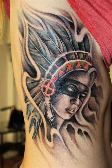 female warrior tattoos daniel certified artist