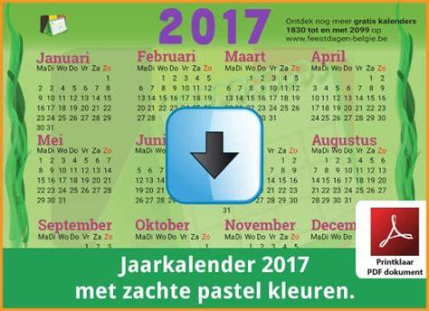 Kalender 2018 Schoolvakanties Belgie Kalenders 2017 Gratis Downloaden En Printen Feestdagen