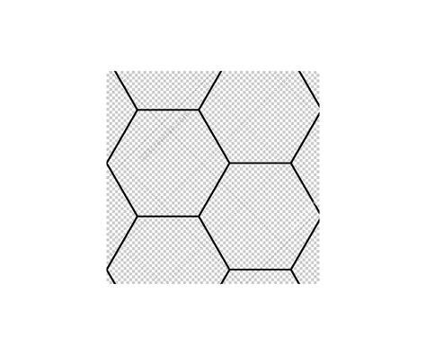 square pattern overlay photoshop hexagon matrix futuristic tech line dot grid