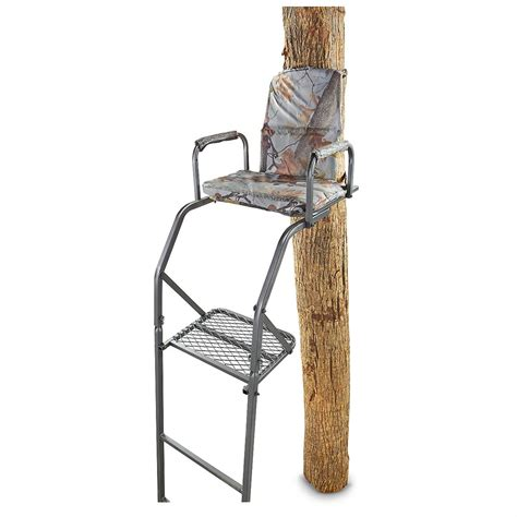 guide gear 16 basic ladder tree stand 283702 ladder
