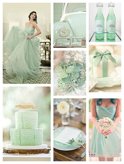 2014 winter wedding colors and themes 2013 wedding trends in mint color 8 in mint green themes