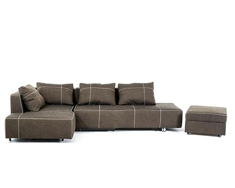 Fabric Sectional With Chaise Fabric Sectional Sofa W Chaise In Contemporary Style 44l6035